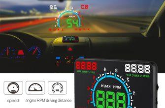 5.5 car obd ii hud head up display на АлиЭкспресс — купить онлайн по выгодной цене