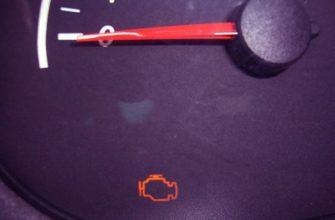 Загорается инжектор после запуска двигатель на ваз 2110