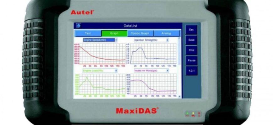 Мультимарочный сканер Autel MaxiDAS DS708 купить в магазине ELMSCAN.RU