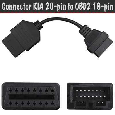 20 pin obd2 адаптер на АлиЭкспресс — купить онлайн по выгодной цене