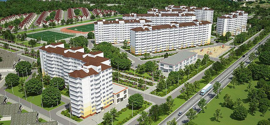 1 жилой комплекс - Новостройки от застройщика (ЖК) ОБД-Инвест в Анапе - ЦИАН