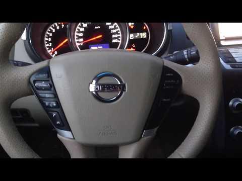 Расшифровка индикаторов приборной панели Nissan Murano Z51