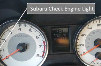 Расшифровка индикаторов приборной панели Subaru Legacy 2 поколение