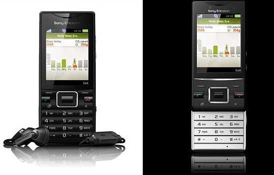 Телефоны Sony Ericsson Elm и Hazel расширяют линейку GreenHeart -