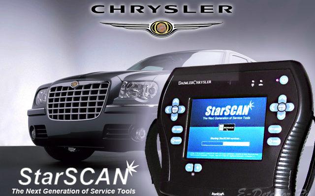 Дилерские автосканеры для Chrysler