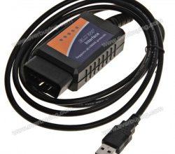 Адаптер ELM327 USB OBD2 для диагностики авто купить