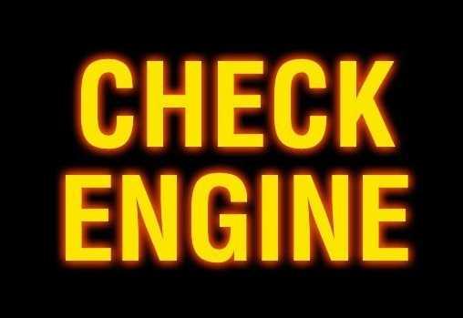 Что делать если загорелся чек двигателя ваз 2114