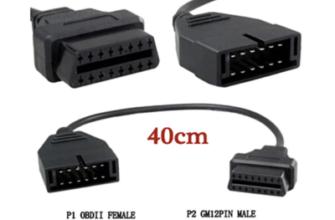 переходник для nissan 14 pin на obd2 16pin купить по низкой цене на Aliexpress