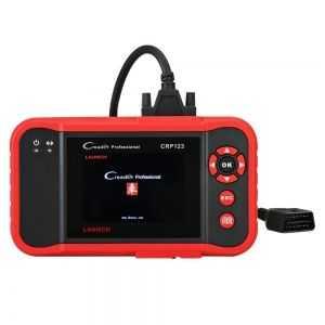 Сканер X431 CRP123X, описание функционала и возможностей