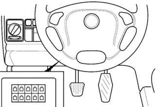 Где находится и как выглядит разъем OBDII на автомобилях OPEL - IDiag.by