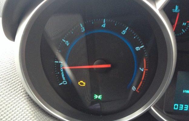 Чек (check) на приборной панели Chevrolet Aveo: причины, методы устранения